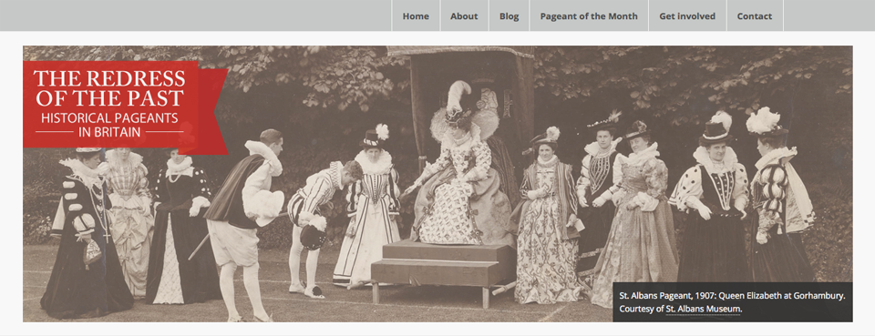 Historical Pageants home page